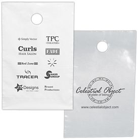 Promotional 9.5x14 Door Knob Plastic Bag