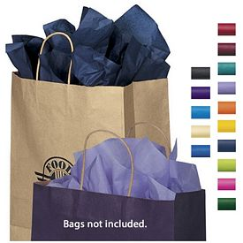 Promotional Colored Packaging Tissue Paper - 480 Sheet Pack