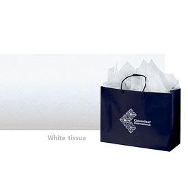 Customized White Packaging Tissue Paper - 480 Sheet Pack