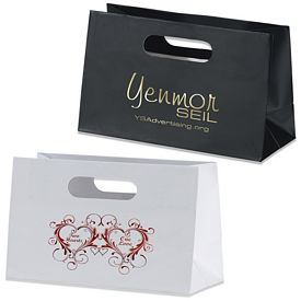 Customized Mia Boutique Die Cut Shopper Paper Bag