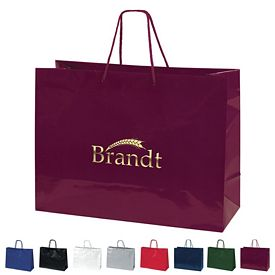 Promotional 16x12 Tiara Gloss Eurotote Shopper Paper Bag
