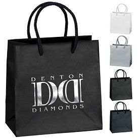 Promotional 6.5x6.5 Dublin Matte Eurotote Shopper Paper Bag