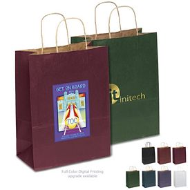 Promotional 10x13 Dorothy Matte Paper Shopper Tote Bag