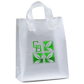Promotional Venus 10x13x5 Frosted Shopper Gift Bag