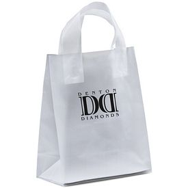 Promotional Beulah 8x10x4 Frosted Shopper Gift Bag