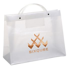 Promotional CEO 16x12x6 Euro Plastic Shopper Tote Bag