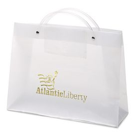 Promotional PRES 13x10x5 Euro Plastic Shopper Tote Bag