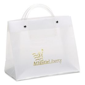 Promotional VP 10x8x4 Euro Plastic Shopper Tote Bag