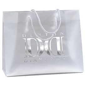 Customized Scorpio 13x10x5 Frosted Euro Plastic Bag