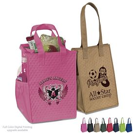 Customized Therm-O-Snack Cooler Tote Bag
