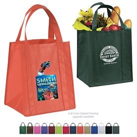 Promotional Big Thunder 13x15x10 NonWoven Shopping Tote Bag