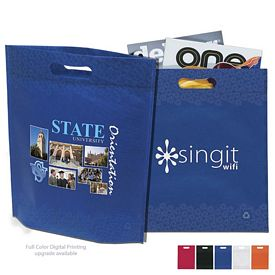 Customized Large NonWoven Die Cut Recycled Tote