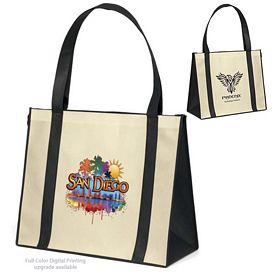 Customized Del Mar NonWoven Tote Bag