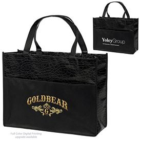 Customized Couture Laminated Tote Bag