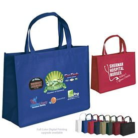 Promotional Ben 16x12x6 NonWoven Tote Bag