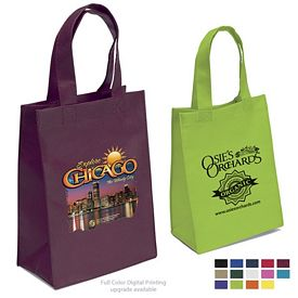 Promotional Ike 8x10x4 NonWoven Tote Bag