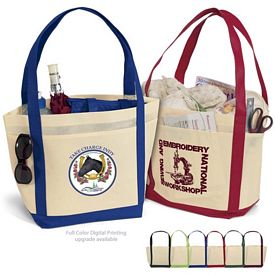 Promotional Saratoga NonWoven Tote Bag