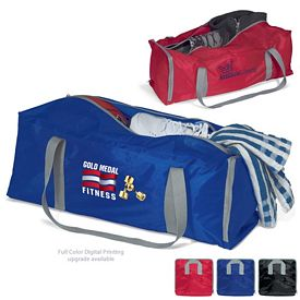 Promotional Fold-Away Extra Large Sport Duffel Bag