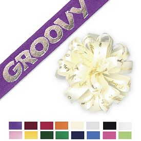 Promotional 3.75-inch Present Gift Wrapping Bows - 35 Bows