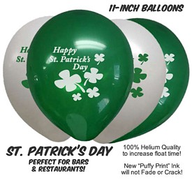 Promotional St PatrickS Day Balloons