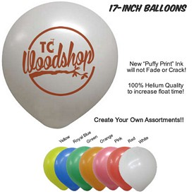 Custom 17 Inch Balloons Biodegradable Latex