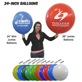 Customized 24 Inch Jumbo Balloons