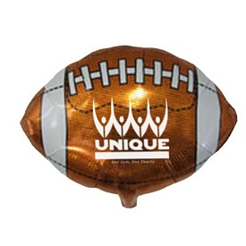 Promotional 18 Inch Football Mylar Balloons