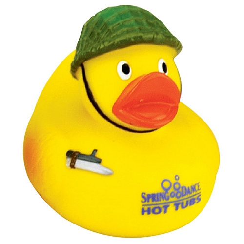 Custom Army Infantry Rubber Duck