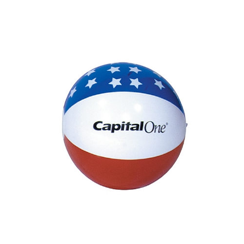 Promotional 16 Patriotic Inflatable Beachball