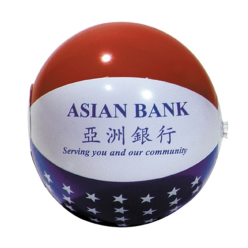 Promotional 36 Patriotic Inflatable Beachball