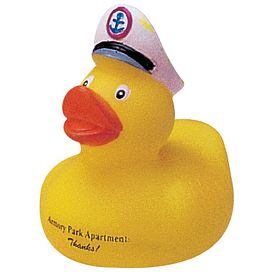 Custom Miniature Captain Rubber Duck