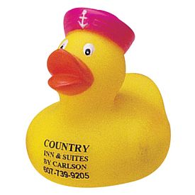 Custom Miniature Servant Rubber Duck