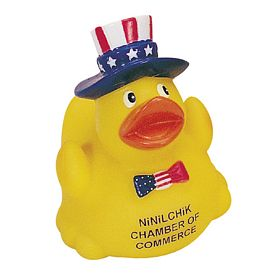 Promotional 4Th Of July Uncle Sam Rubber Duck