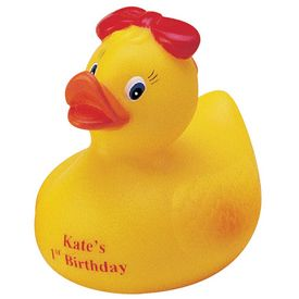Promotional Pretty Girl Rubber Duck