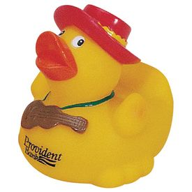 Promotional Country Music Star Rubber Duck