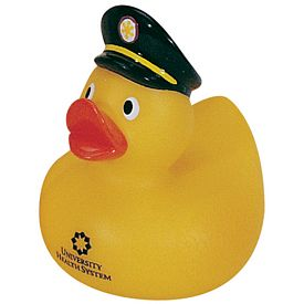 Custom Sheriff Rubber Duck