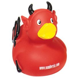 Promotional Devil Rubber Duck