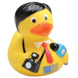 Promotional Journalist Rubber Duck