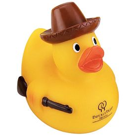 Promotional Hunter Rubber Duck
