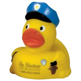 Promotional Miniature Police Rubber Duck
