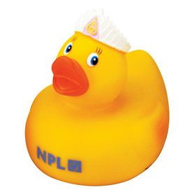 Promotional Queen Rubber Duck