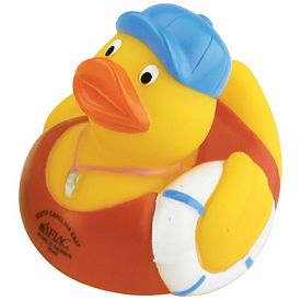 Custom Lifeguard Rubber Duck