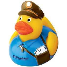 Customized Postal Rubber Duck