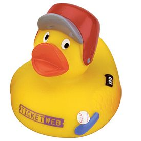 Promotional Home-Run Rubber Duck