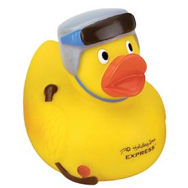 Promotional Hockey Player Rubber Duck