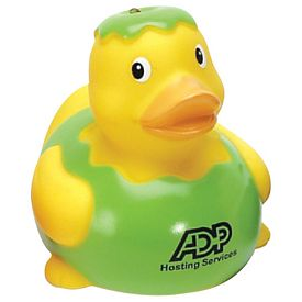 Custom Apple Rubber Duck
