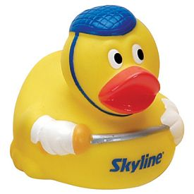 Promotional Fencing Rubber Duck