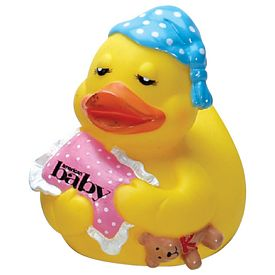 Promotional Yellow Bed Time Baby Rubber Duck