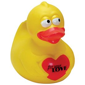 Customized Puppy Love Rubber Duck