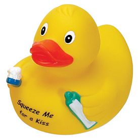 Promotional Clean Teeth Rubber Duck